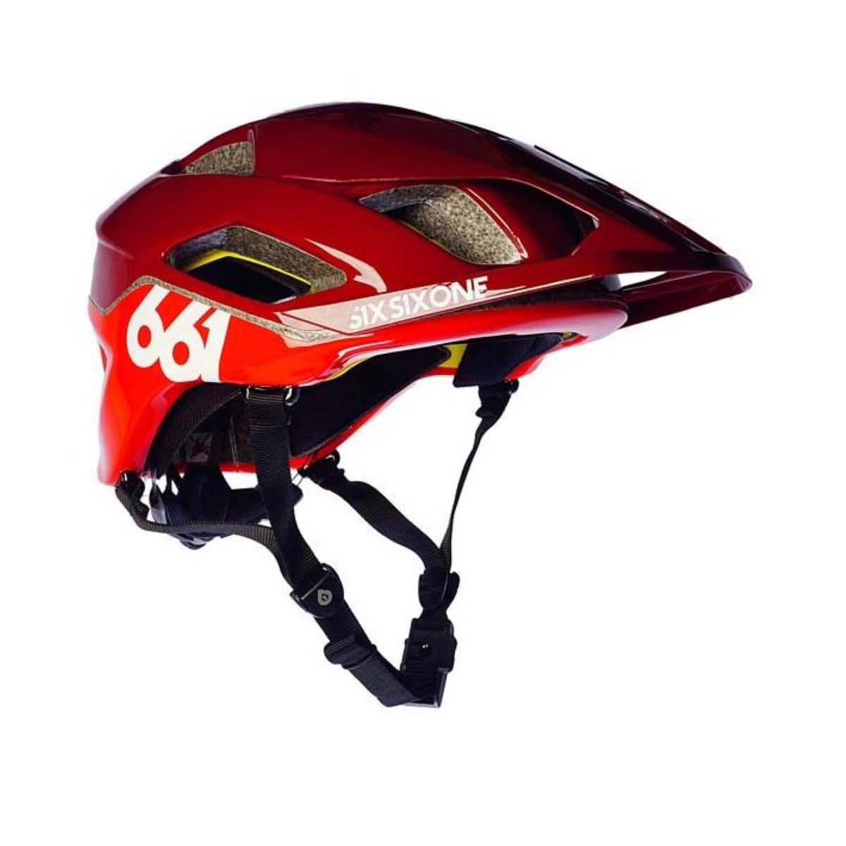Casque SixSixOne Evo AM MIPS - XS/S Red/Red Casques