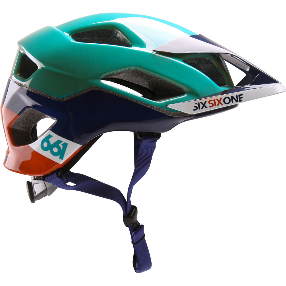 Casque SixSixOne Evo AM MIPS - XS/S Orange/Blue Casques