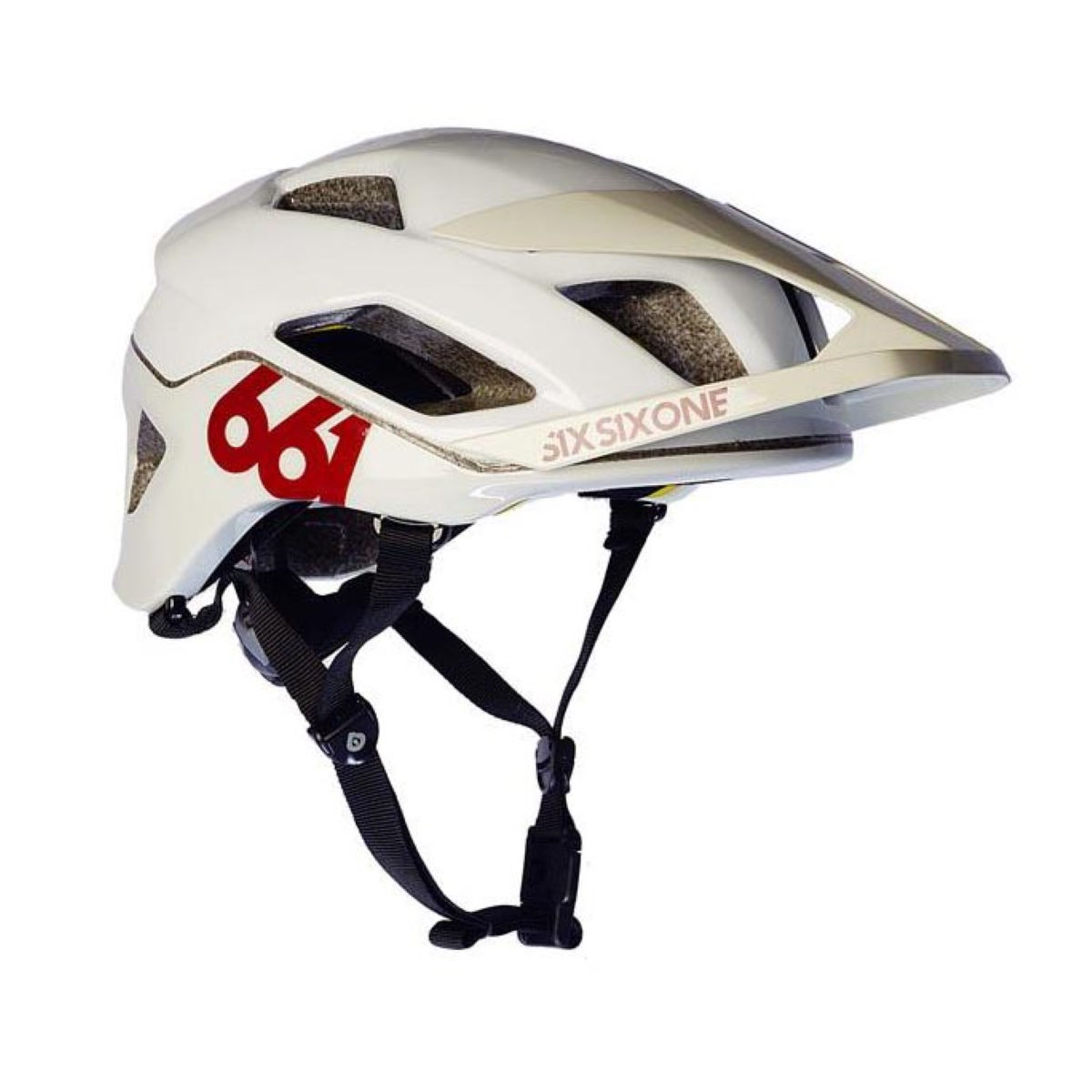 Casque SixSixOne Evo AM MIPS - XL/2XL Blanc/Blanc Casques
