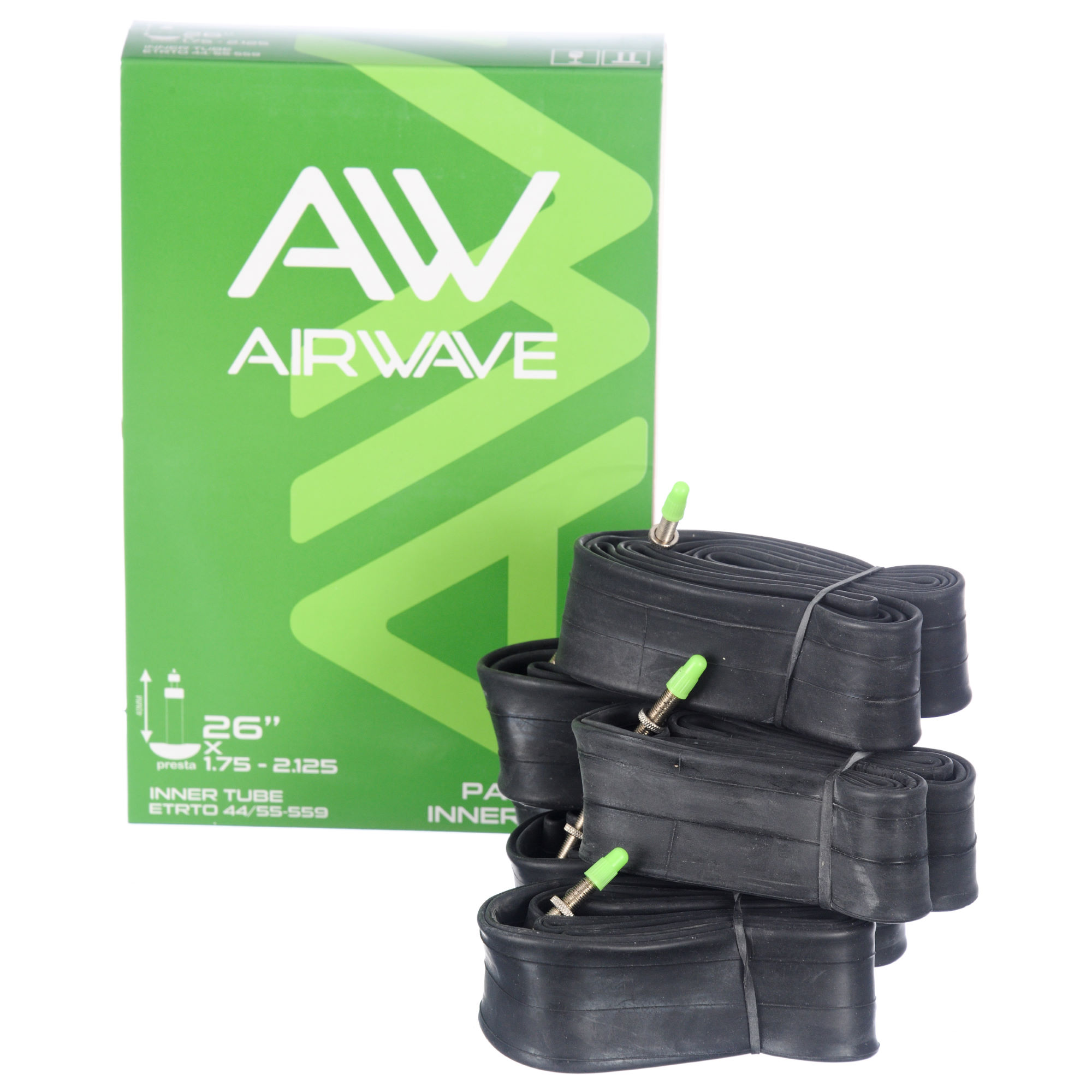 Chambres air vtt airwave mtb tube super value 6 pack wiggle france - Vtt tubeless ou chambre a air ...