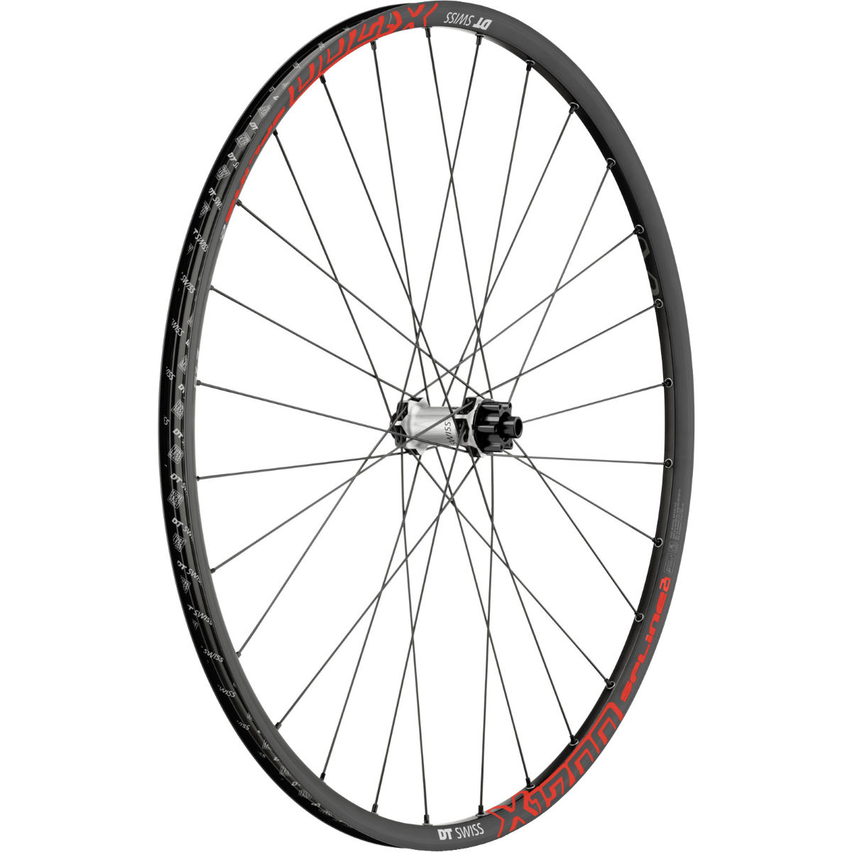 Roue avant VTT DT Swiss X 1700 Spline Two - 29'' Black - Red