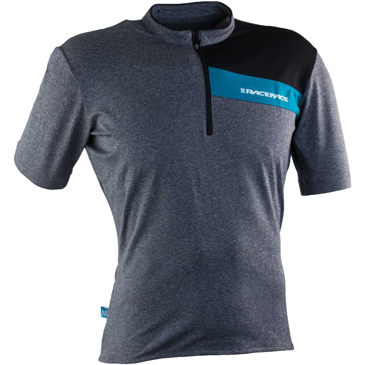 Maillot Race Face Podium (2015) - S Charcoal - Turquoise