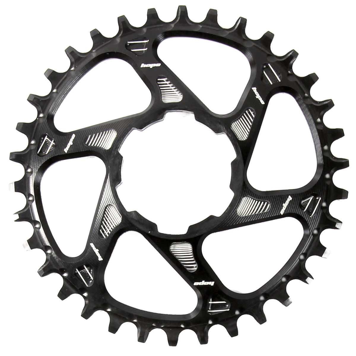 Plateau de retenue Hope Spiderless - 32t 9/10/11 Speed Noir Plateaux