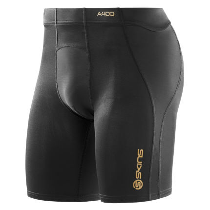 SKINS A400 Power Shorts Black 2XL