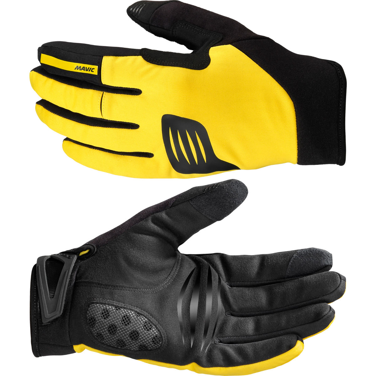 Gants Mavic Crossmax Thermo - XS Black - Yellow Mavic Gants