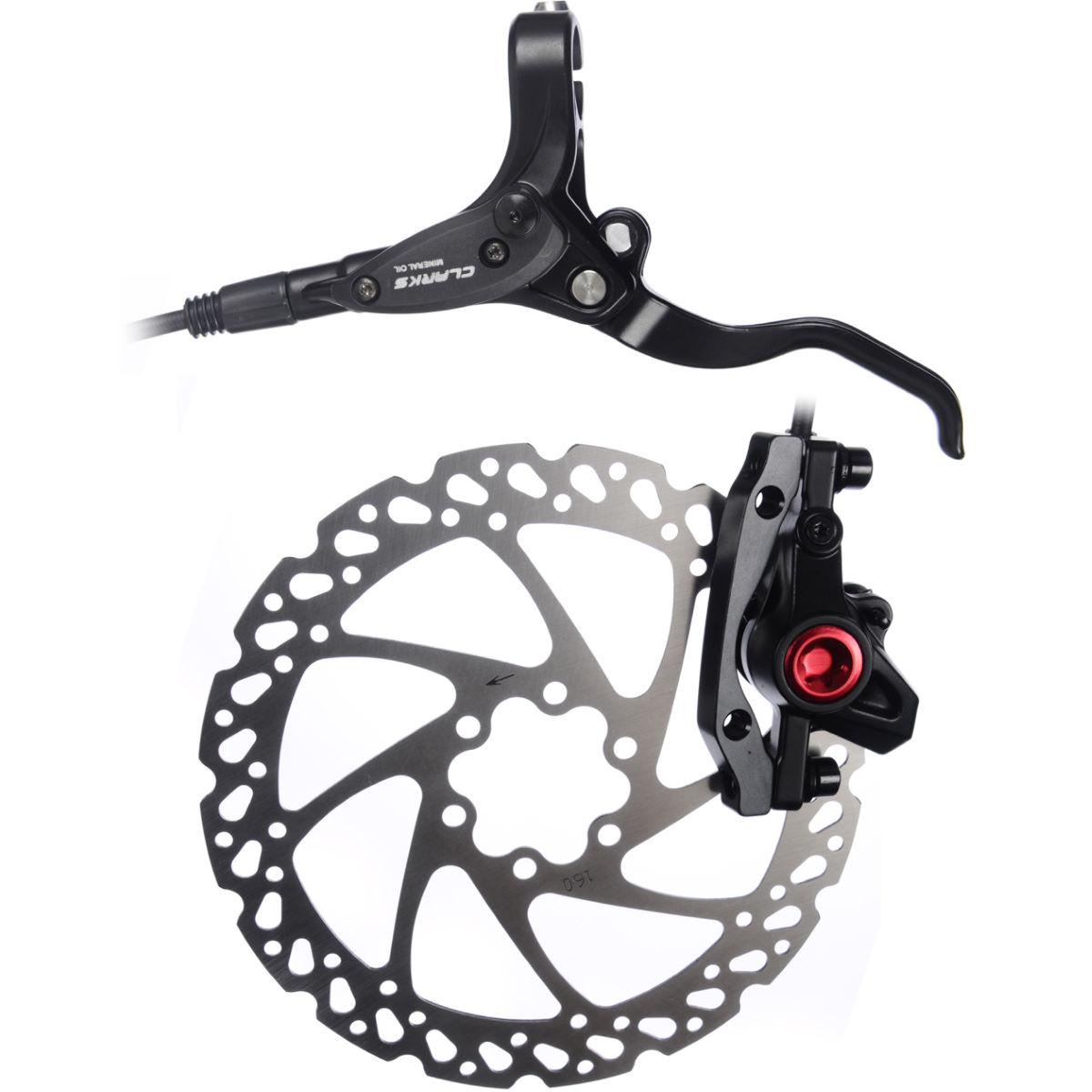 Clarks M2 Hydraulic Disc Brake + Rotor - Frenos de disco