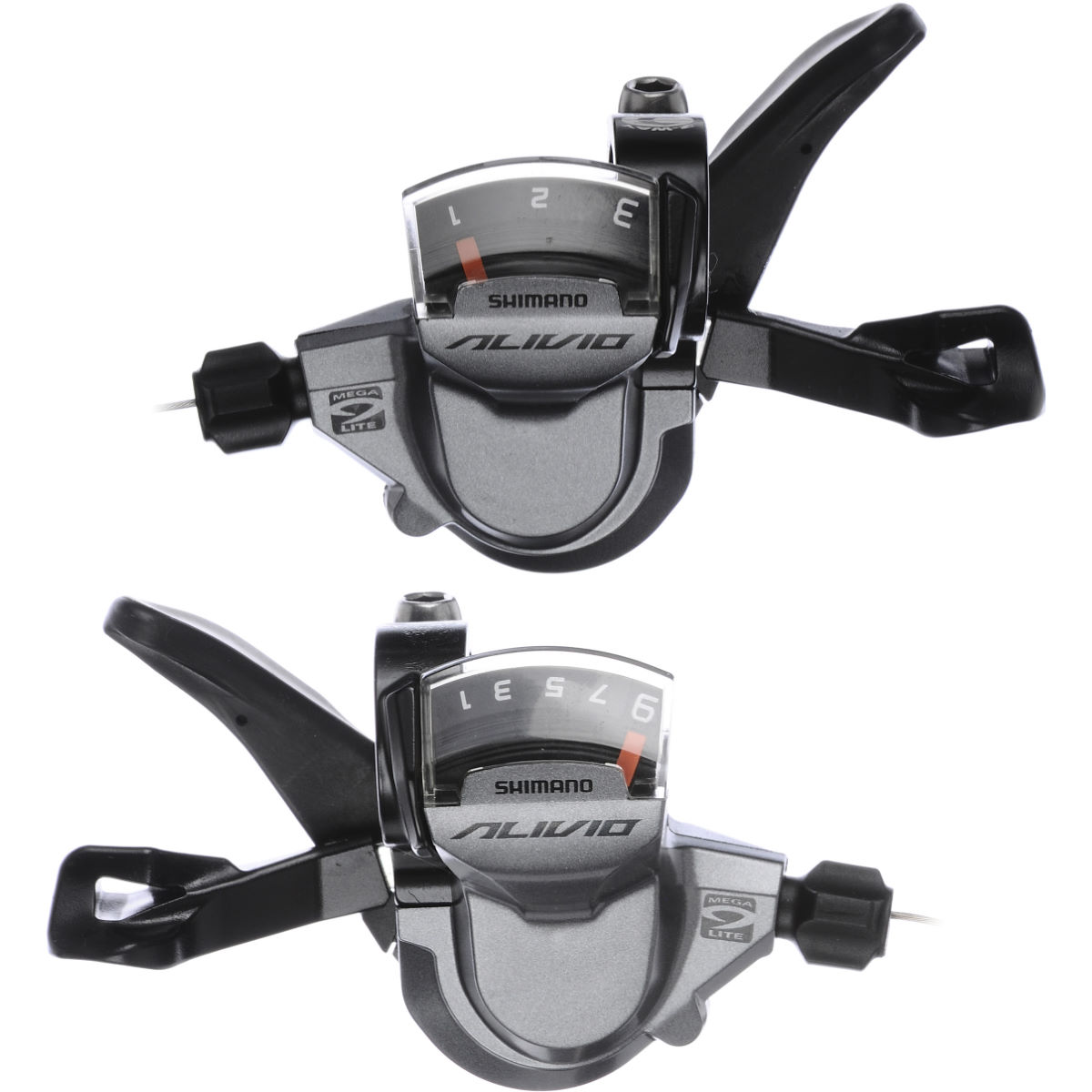 Commandes trigger Shimano Alivio M4000 (9 vitesses) - 9 Speed