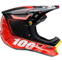 picture of 100% Aircraft Composite DH/BMX Helmet - Bi-Turbo Red