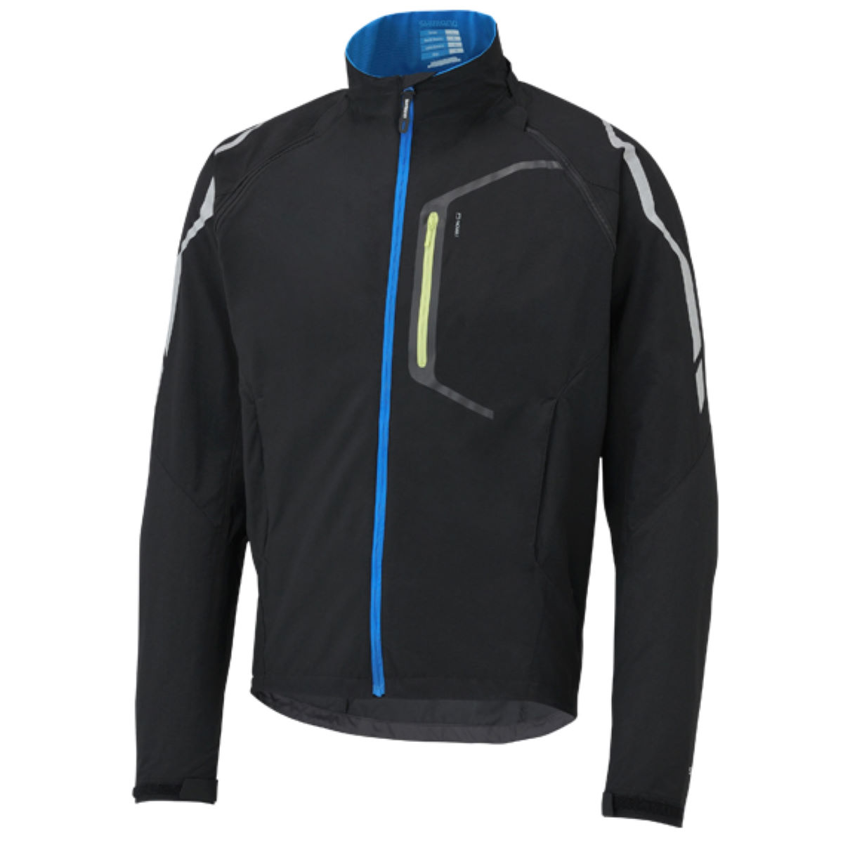 Veste Shimano Hybrid - Medium Black - Blue Coupe-vents vélo