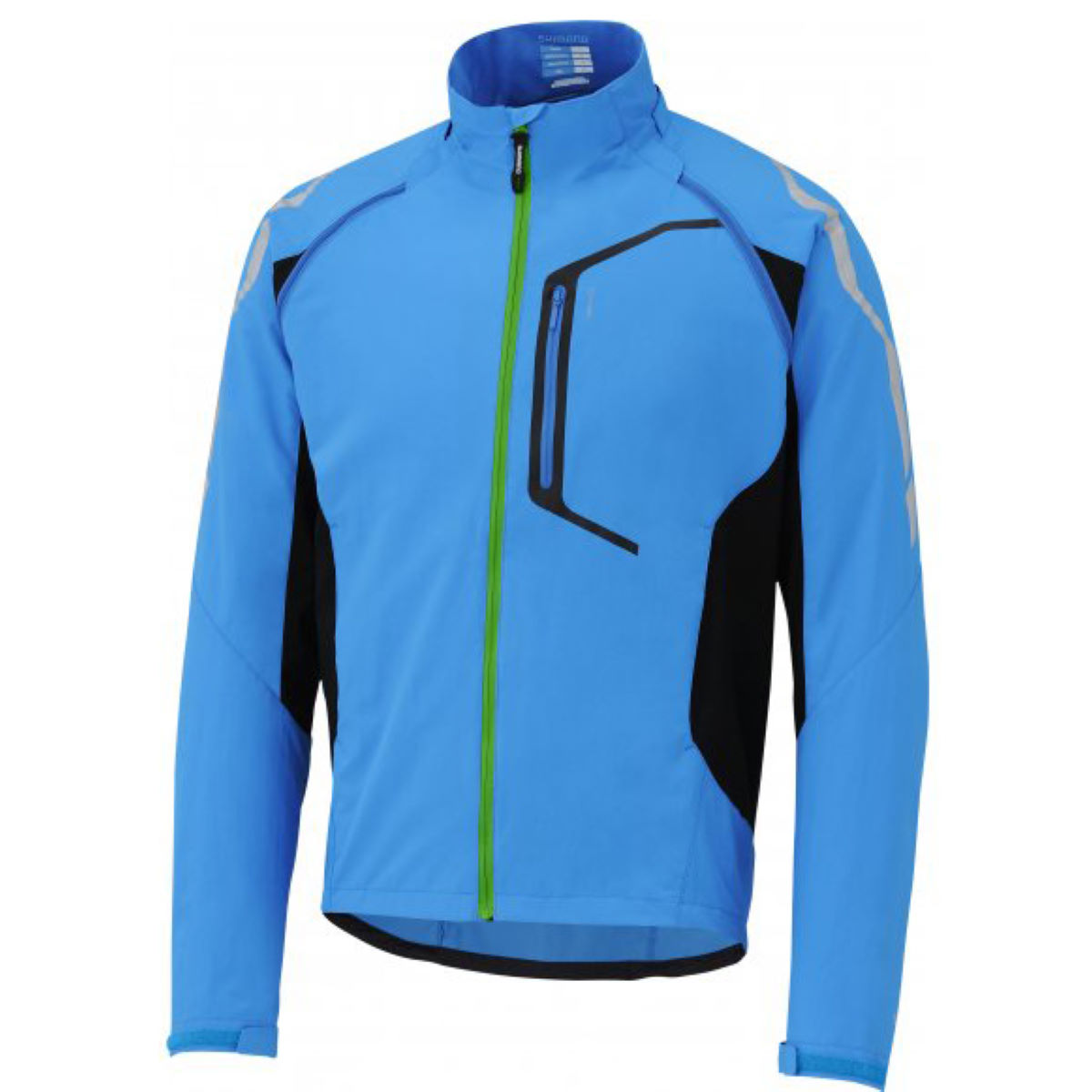 Veste Shimano Hybrid - Medium Lightening Blue Coupe-vents vélo