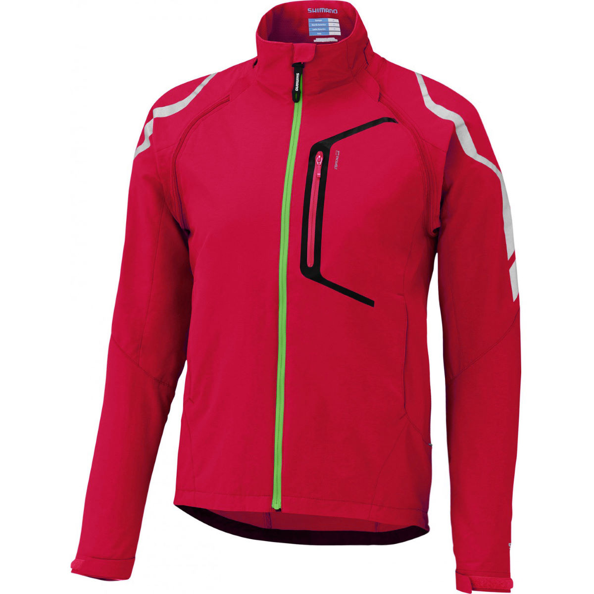 Veste Shimano Hybrid - Medium Rouge Coupe-vents vélo