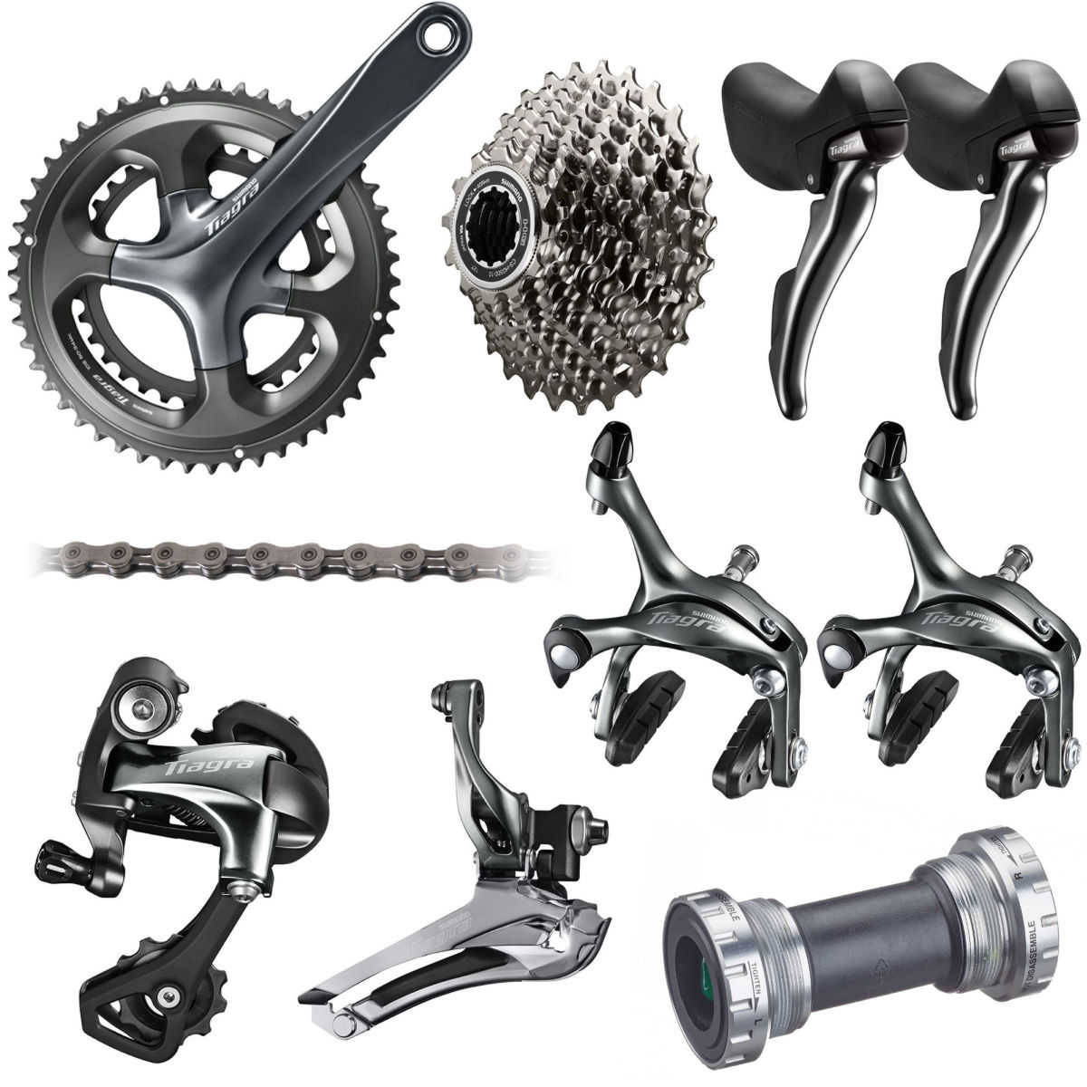 Shimano Tiagra 4700 10 Speed Groupset - Grupos completos