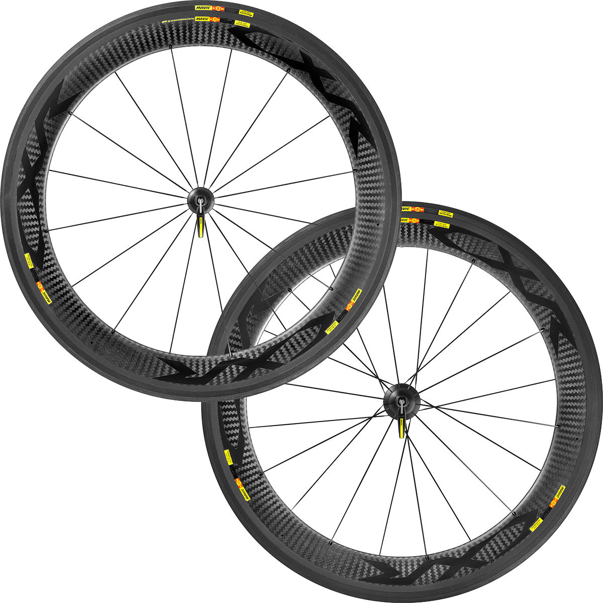 Paire de roues de route Mavic CXR Ultimate 60 - 700c 10/11 Speed