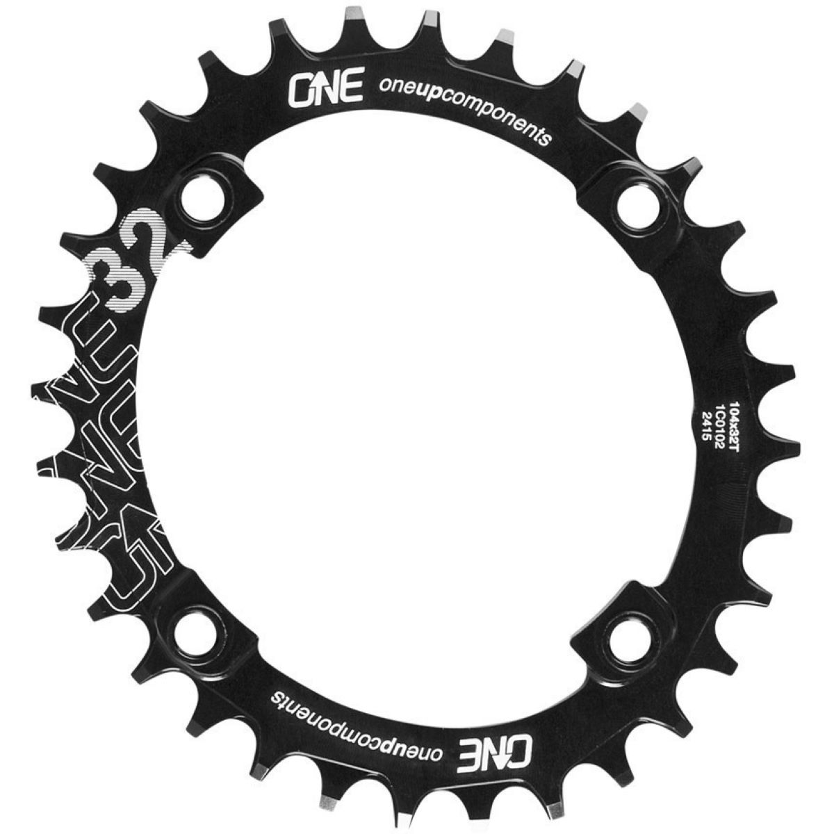 OneUp Components Narrow Wide Oval Single Chainring - Platos