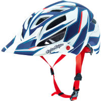 picture of Troy Lee Designs A1 Helmet - Reflex White/Blue