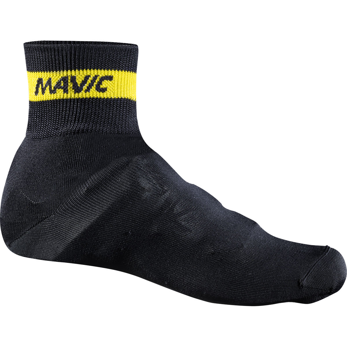 Couvre-chaussures Mavic Knit - S Noir Couvre-chaussures