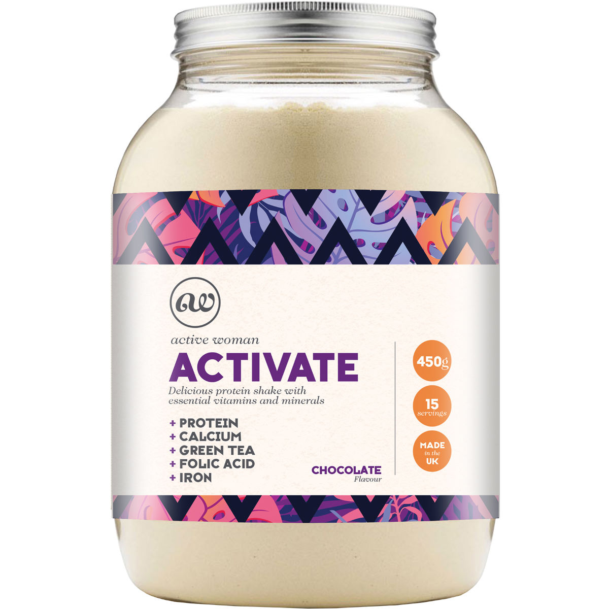 Bio-Synergy Active Woman Activate - 450g - Bebidas en polvo