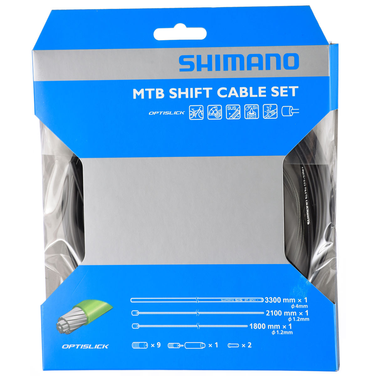 Câbles de vitesses Shimano XT M8000 OPTISLICK - n/a Neutral