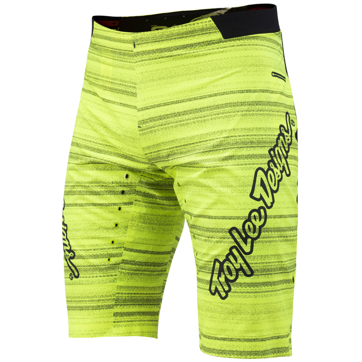 Short Troy Lee Designs Ace Distorted - 36'' Lime Green Shorts amples