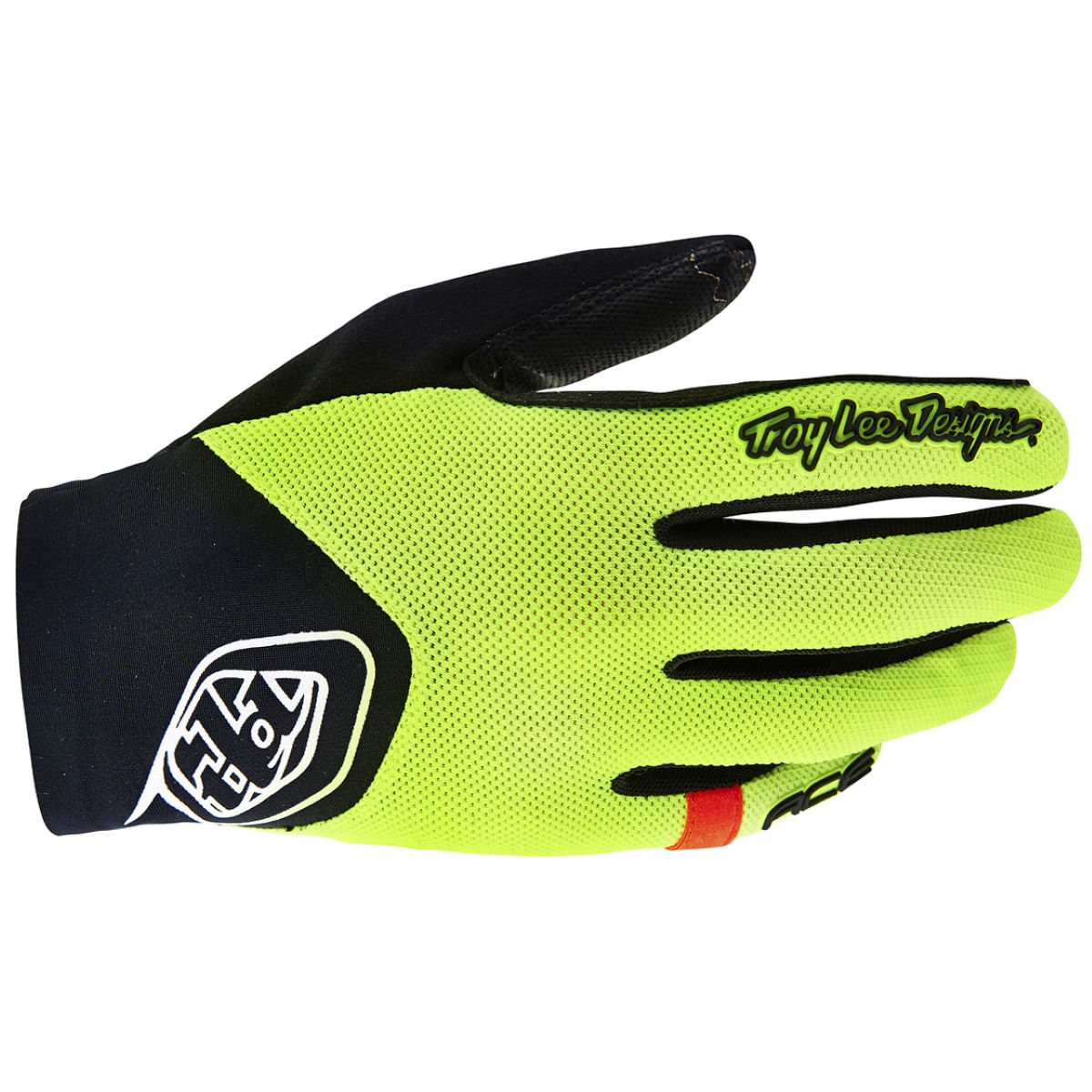 Troy Lee Designs Ace Gloves - M Flo Yellow | Long Finger Gloves