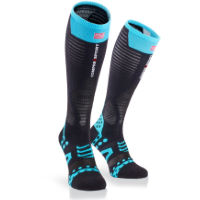 Compressport Ultralight Racing Full Socks Black XL