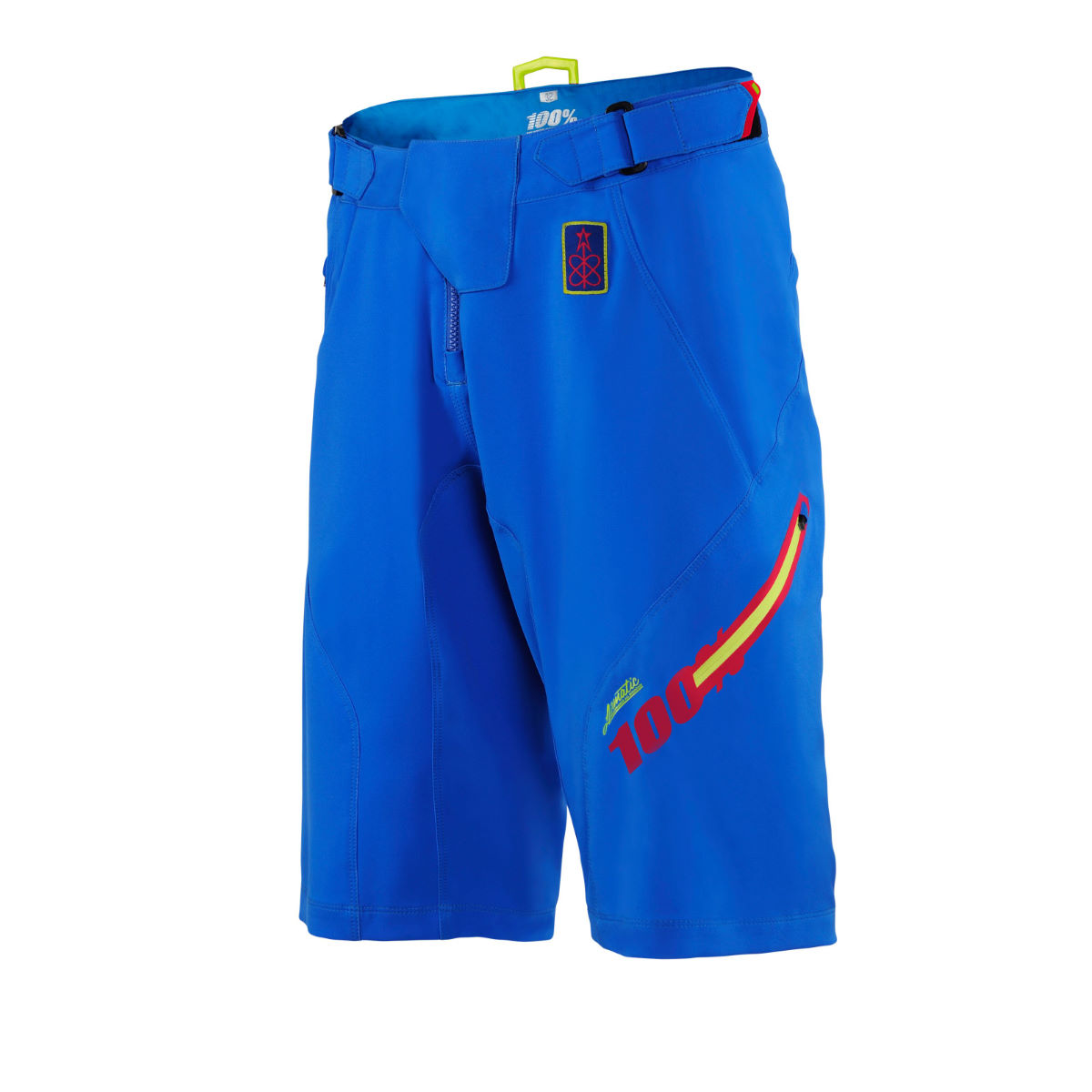 100% Airmatic Fast Times Shorts - 28 Royal | Baggy Cycling Shorts