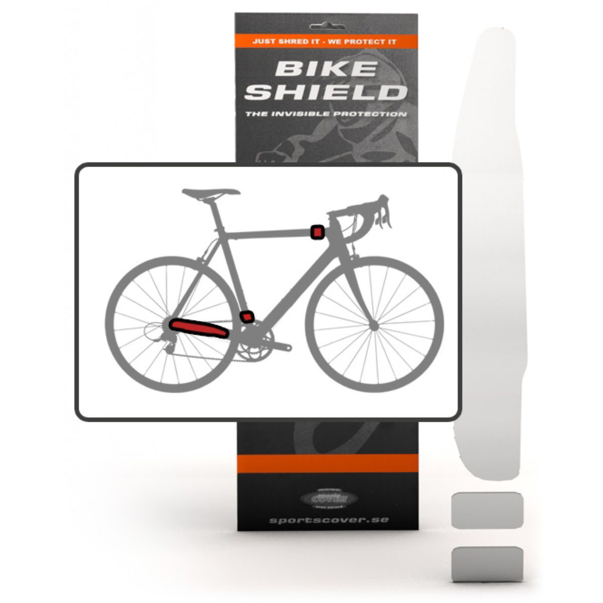 Bike Shield Combo Stay & Cable Shields Pack - Protectores de cuadro
