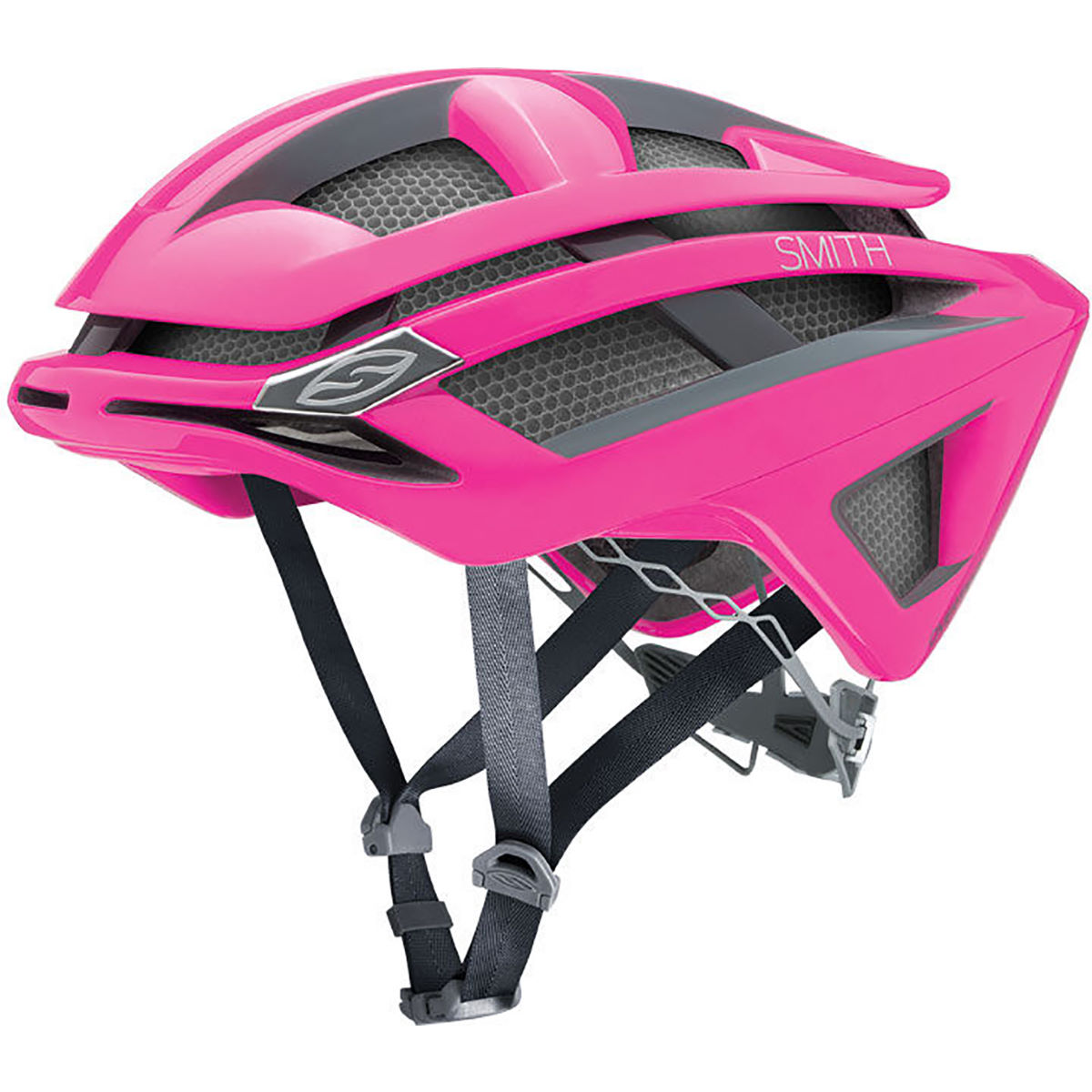 Casque Femme Smith Overtake (2016) - M 55-59cm Neon Pink Casques