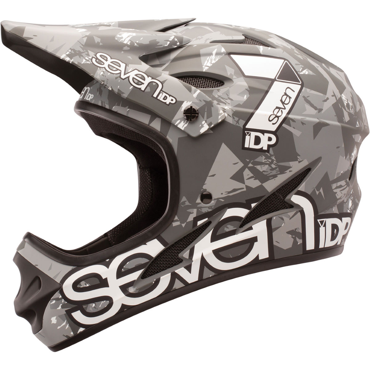 Casque 7 iDP M1 - L Black - White - Grey Casques VTT