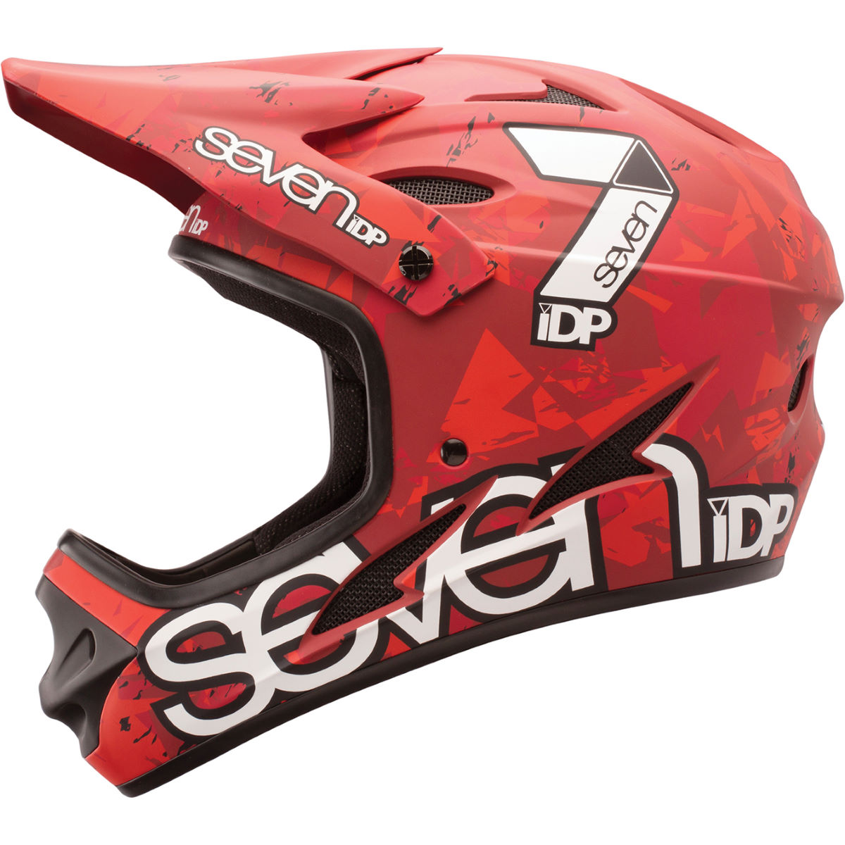 Casque 7 iDP M1 - L Matt Red Camo - Whit Casques VTT