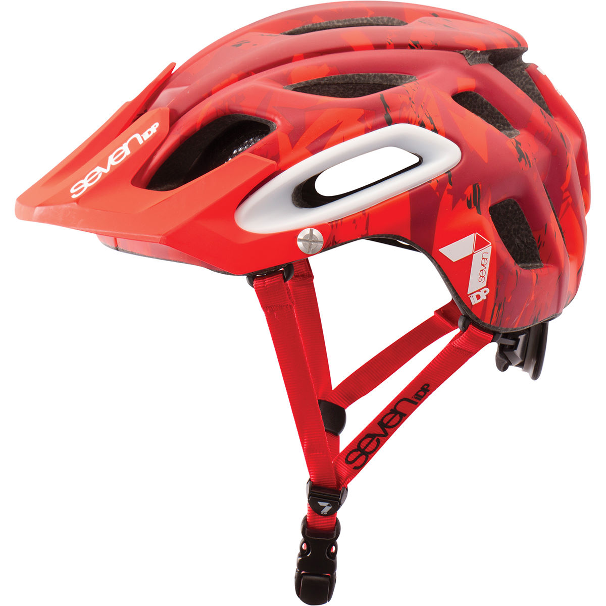 Casque 7 iDP M2 - M/L Matt Red Camo Casques VTT