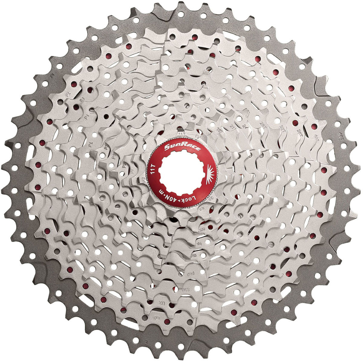 Cassette SunRace MX8 Shimano SRAM (11 vitesses) - 11-40t 11 Speed