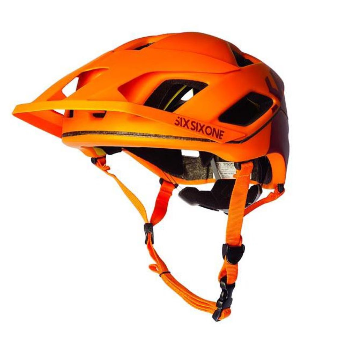 Casque SixSixOne Evo AM Patrol MIPS - XS/S Orange/Orange Casques