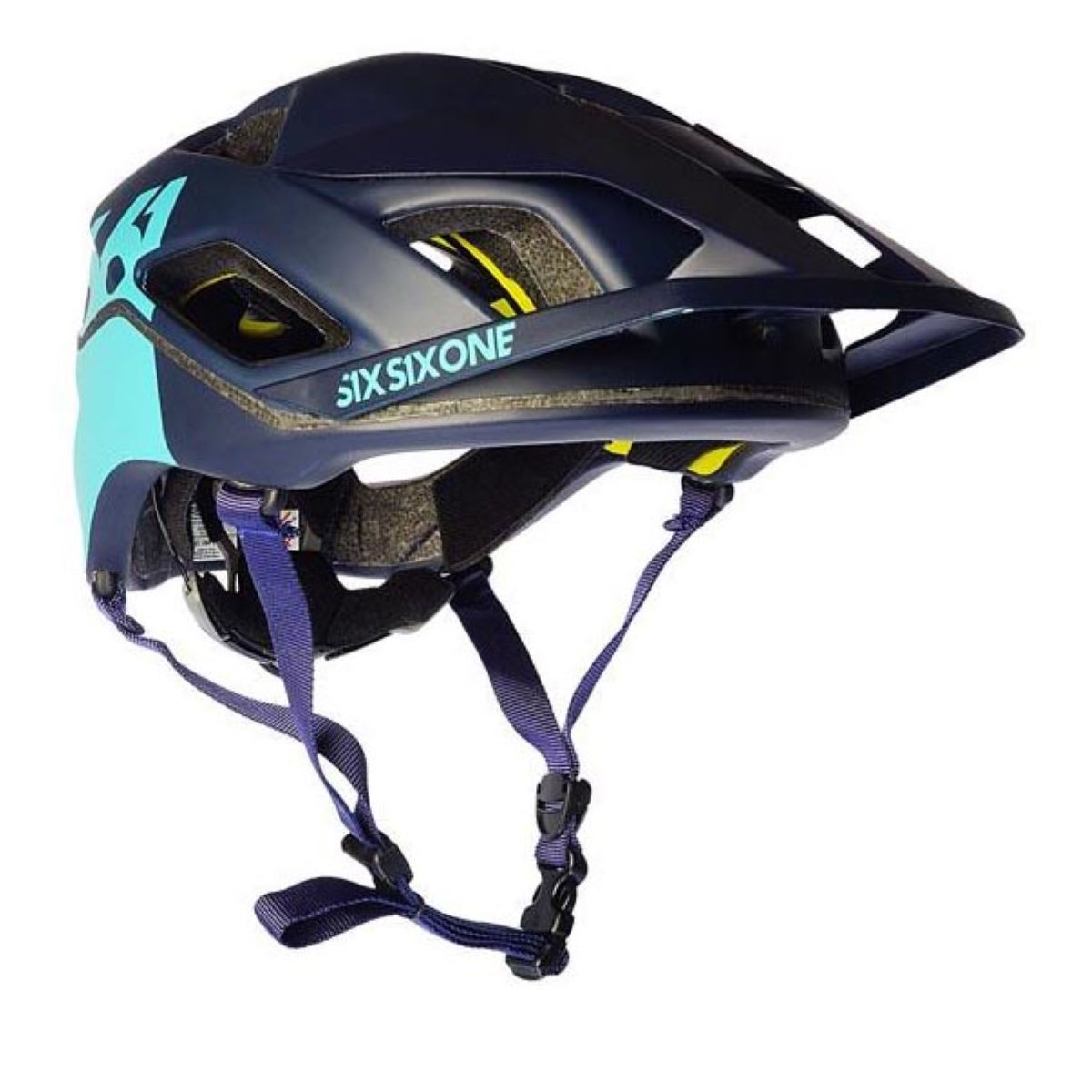 Casque SixSixOne Evo AM Patrol MIPS - XL/2XL Navy/Navy Casques