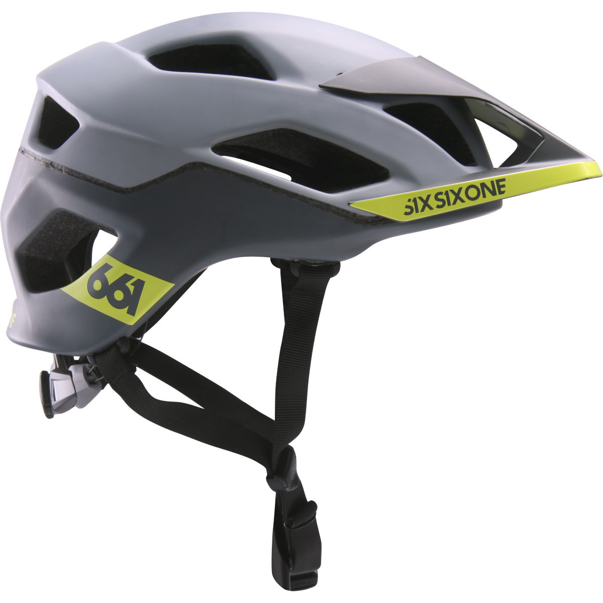 Casque SixSixOne Evo AM Patrol MIPS - XS/S Grey/Grey Casques