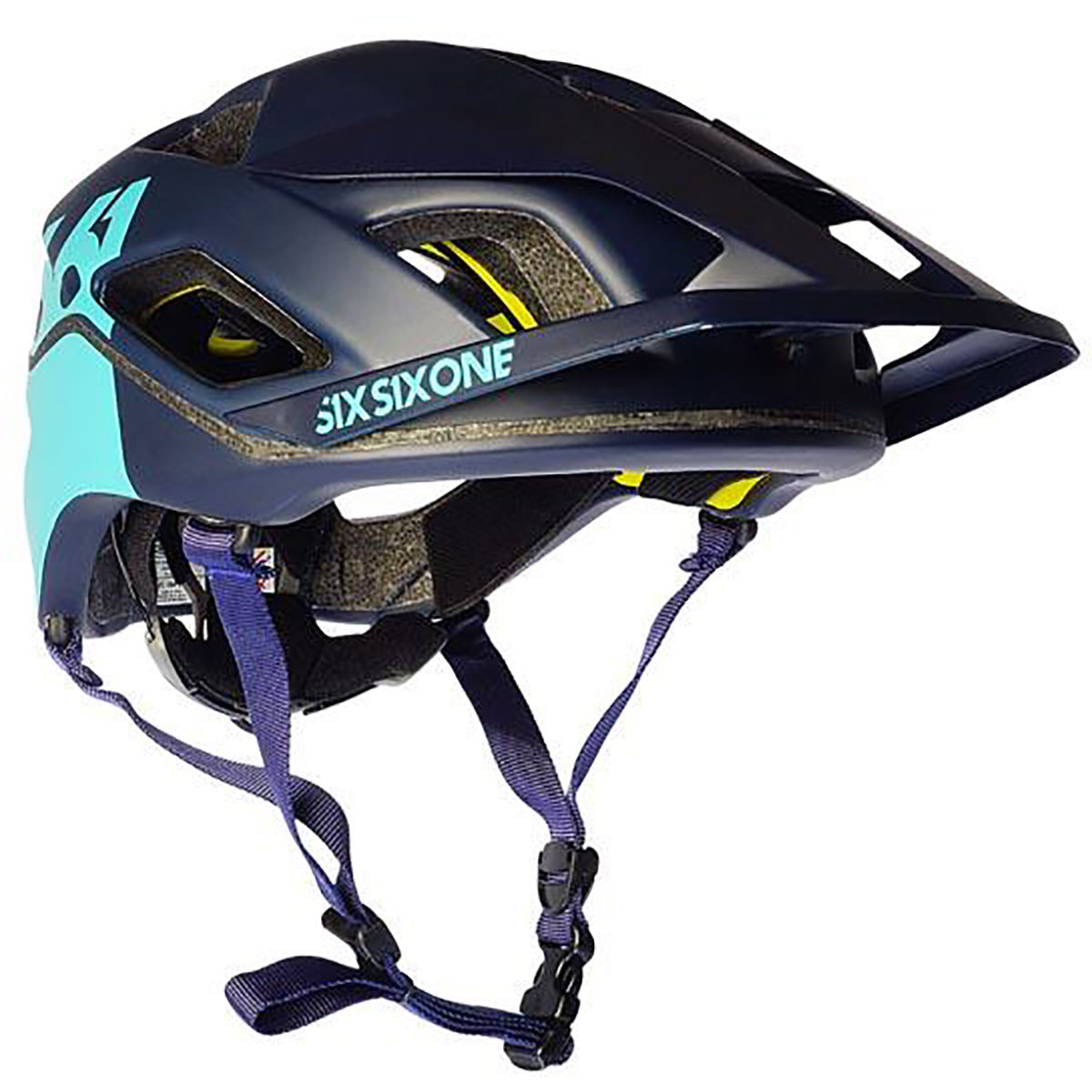 Casque SixSixOne Evo AM Patrol - XS/S Navy/Navy Casques