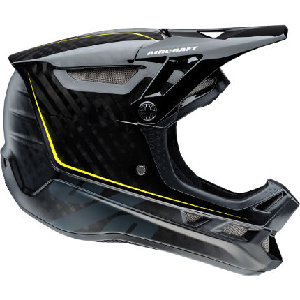 Picture of 100% Aircraft MIPS Carbon DH/BMX Helmet (Raw Black)
