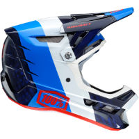 picture of 100% Aircraft MIPS Carbon DH/BMX Helmet (R8 Blue)