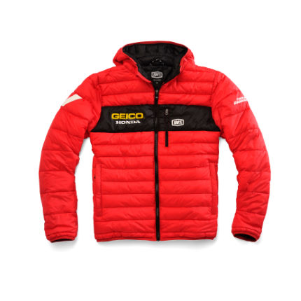 100% Geico Honda Mode Hooded Jacket