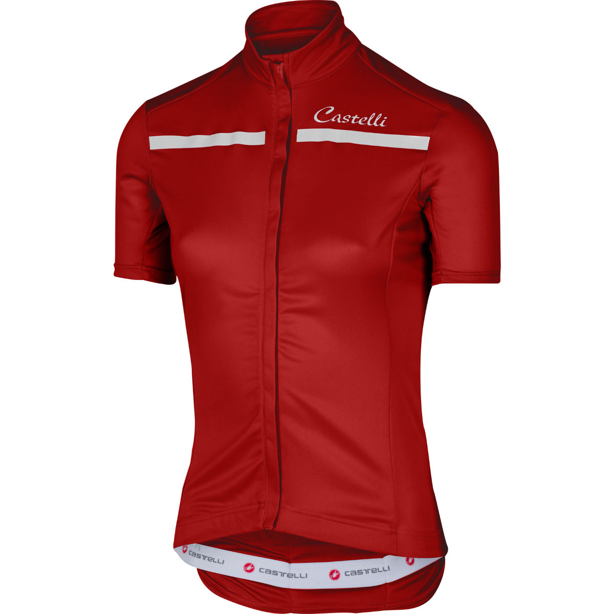 Maillot Femme Castelli Imprevisto - XS Rouge/Blanc Maillots