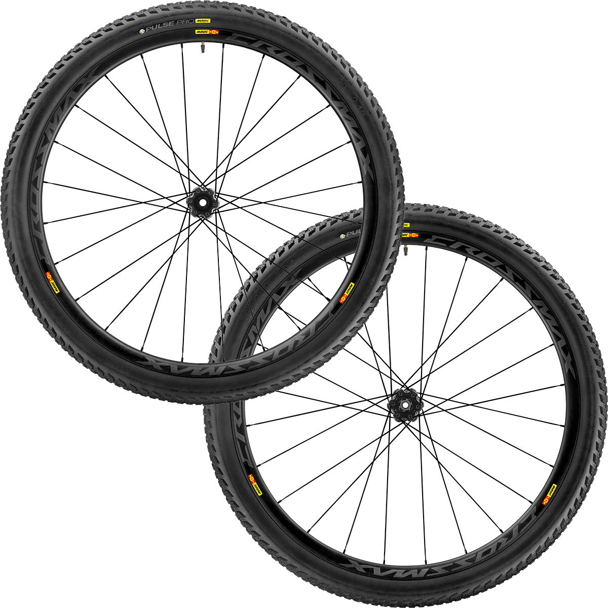 Paire de roues VTT Mavic Crossmax Pro Carbon - 29'' 10/11 Speed 2.10