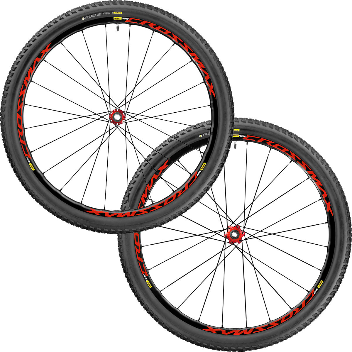 Paire de roues VTT Mavic Crossmax Elite - 29'' 10/11 Speed 2.10 Rouge