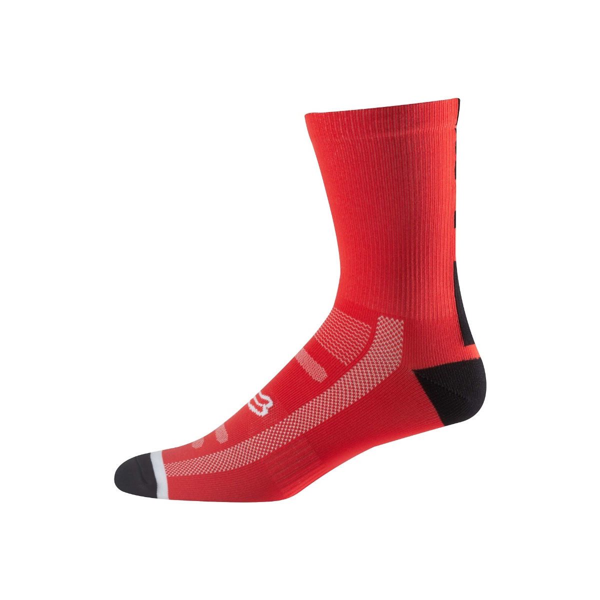 Chaussettes Fox Racing 8 Logo Trail - L/XL Flame Red