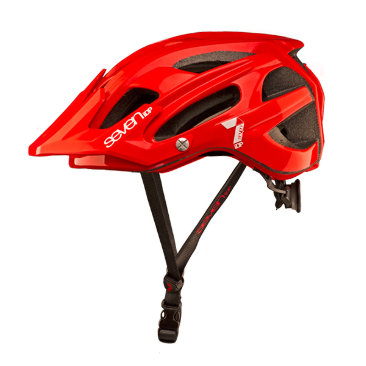 Casque 7 iDP M4 - S/M Red - White Casques VTT