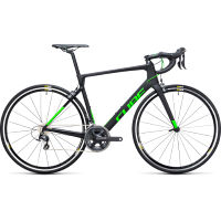 Cube Agree C:62 Pro Road Bike Black/Green 62cm Stock Bi