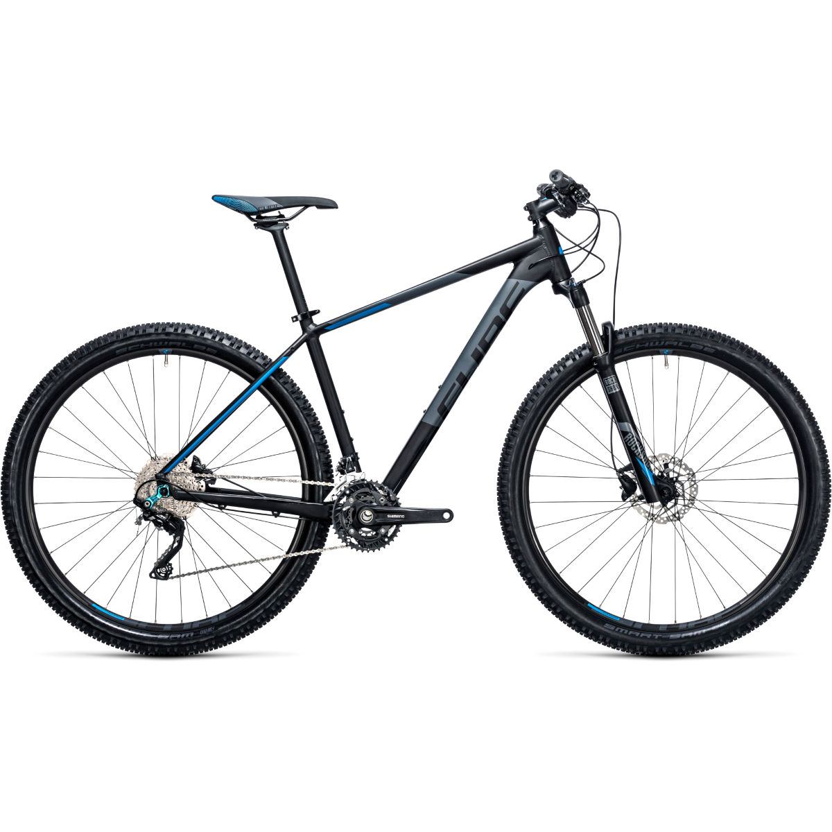VTT semi-rigide Cube Attention 27,5 pouces (2017) - 18'' Stock Bike