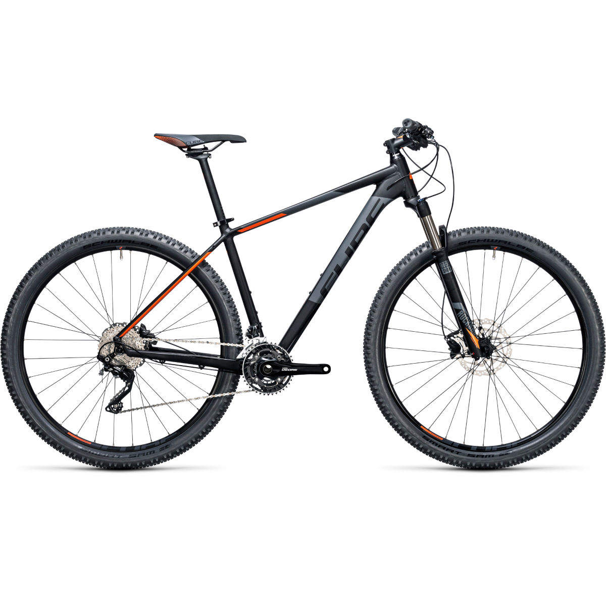 VTT semi-rigide Cube Attention SL 27,5 pouces (2017) - 18'' Stock Bike