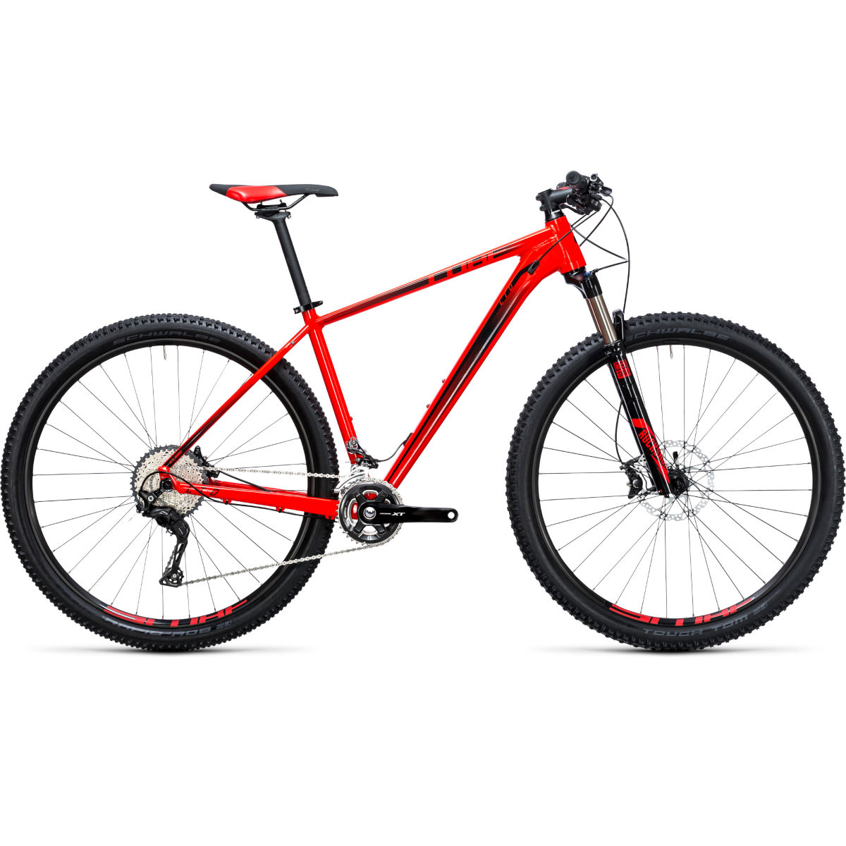 VTT semi-rigide Cube LTD Race 27,5 pouces (2017) - Red - Black