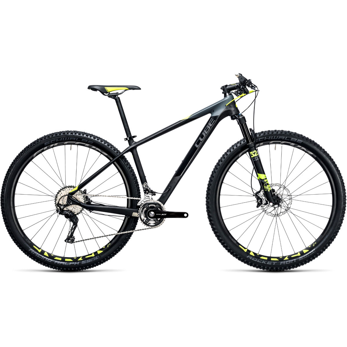 VTT semi-rigide Cube Reaction GTC SL 29 pouces - 23'' Stock Bike