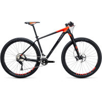"Cube Reaction GTC SLT 29 Hardtail Bike Black/Red 17"" St"